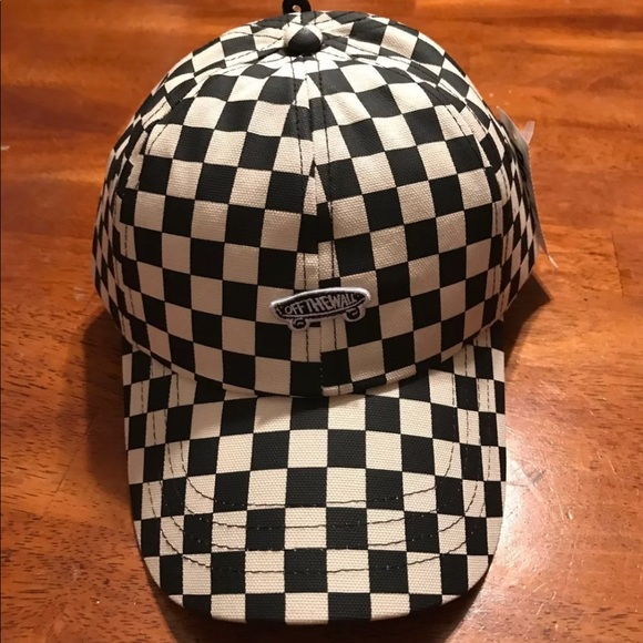 Vans Black and White Checkered Hat a0bb64e0057